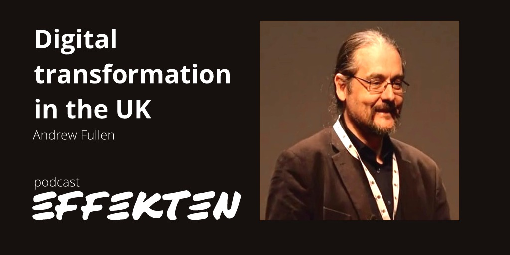 Andrew Fullen, Digital Transformation UK