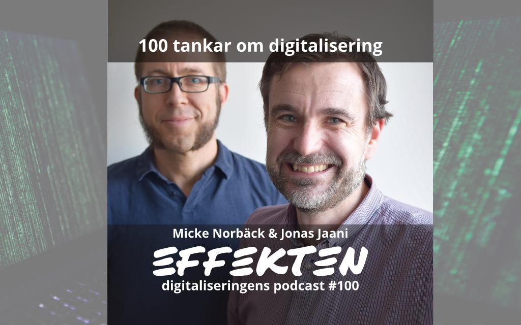 100 avsnitt om digitalisering