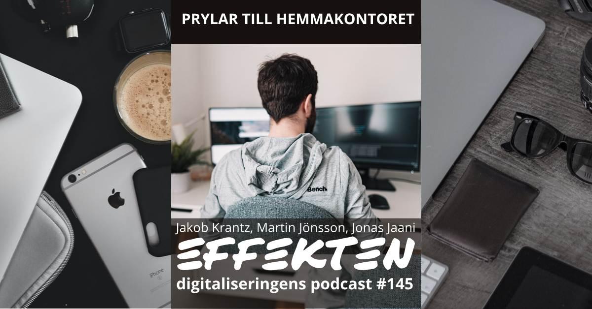Prylar för hemmakontoret. Jakob Krantz, Martin Jönsson (#145)