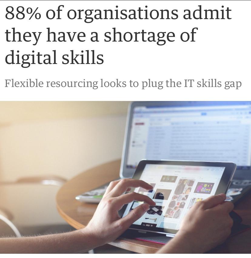 88% hinner inte med att digitalisera