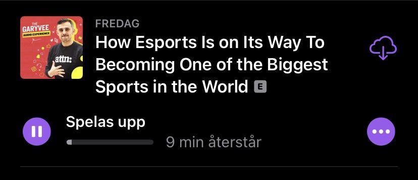 E-sport bli ännu större