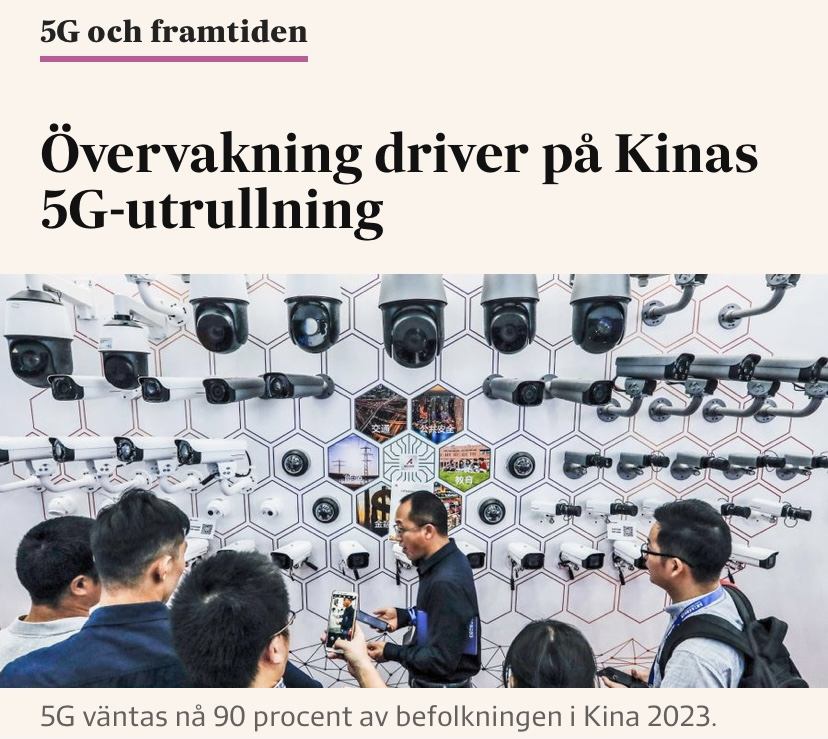 Utbyggnaden av 5G