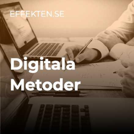 Digitala metoder – poddlista på Spotify