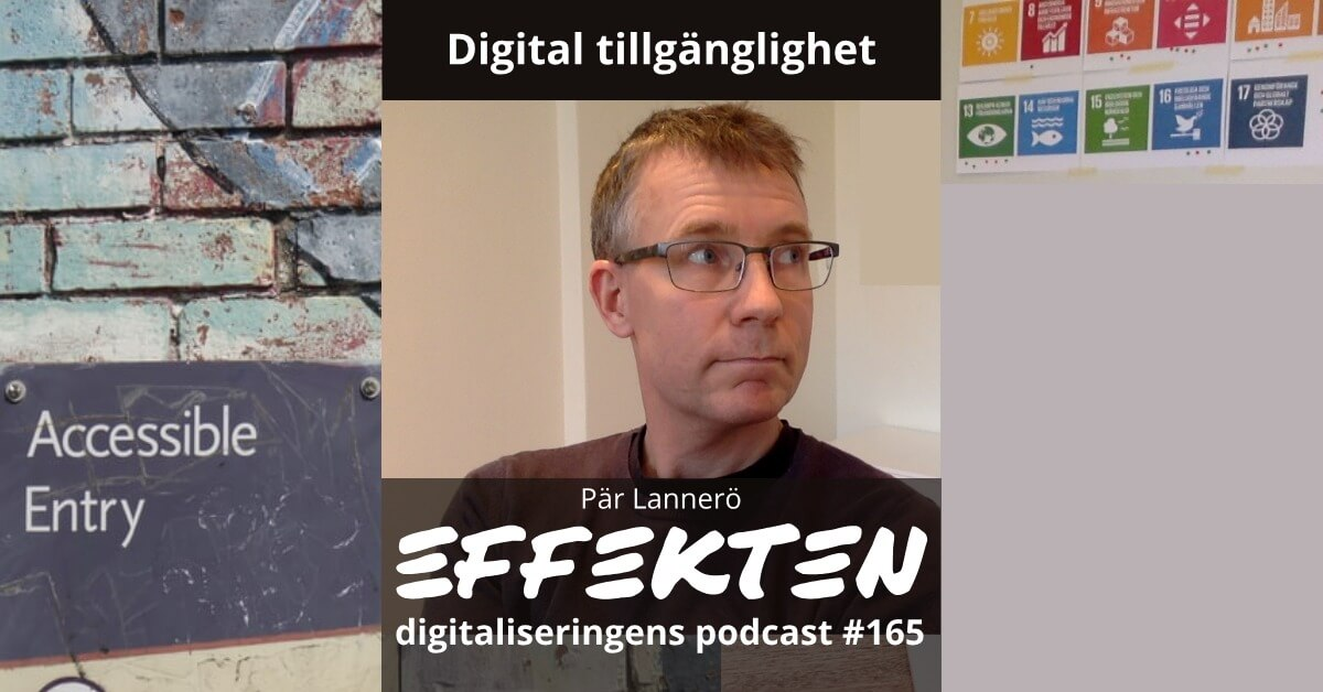 Digital tillgänglighet. Pär Lannerö (#165)